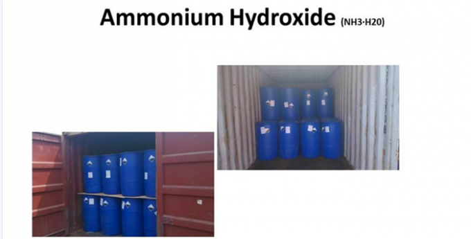 H5NO Industrial Grade Water Treatment Plant Chemicals Ammonium Hydroxide 25
