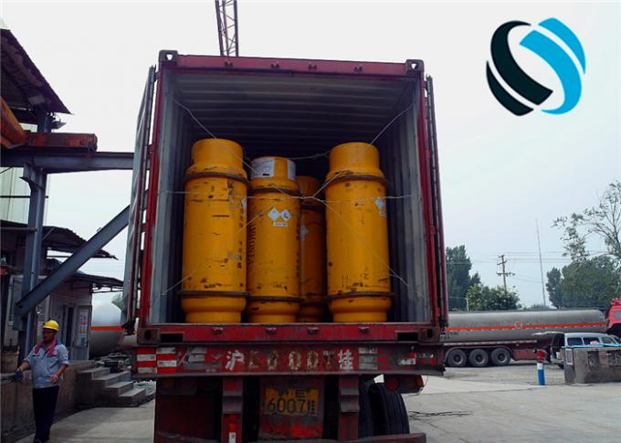 400Kgs Industrial Ammonia Nh3 Gas In Cylinders Packaging 60℃ Melting Point
