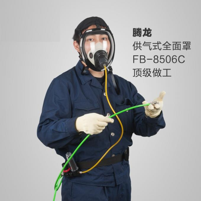 29*21*20 Cm Full Face Safety Mask , Industrial Air Respirator Mask OEM Accepted