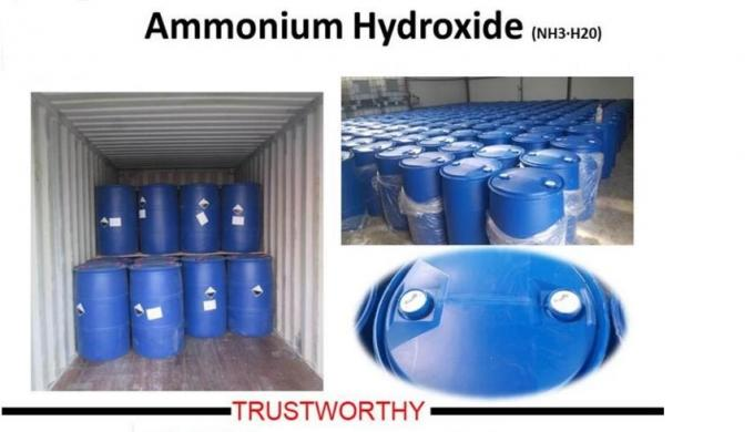 Colorless And Transparent Industrial Ammonia 25% For Mineral Separation