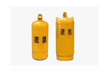 400L 926L Welding Steel Gas Cylinder For Ammonia / Chlorine Large Capacity
