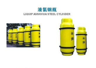 China 800L Chlorine Gas Cylinder , Industrial Gas Cylinders 450KGS Weight supplier