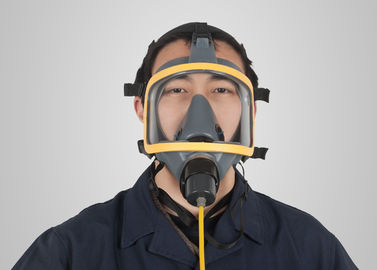 China Silica Gel Chemical Respirator Mask With Air Supplying Customized Design supplier