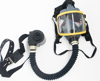China Gas Defense / Dust Proof Face Gas Mask For Whole Facial Protective 29*21*20 supplier
