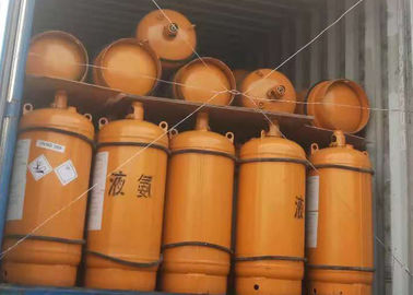 China 100 L Packaging Refrigeration R717 Ammonia Nh3 Gas For Meat Production supplier