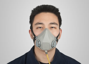 China Dual Gas Supply Type Spray Paint Gas Mask , Half Face Respirator Mask European Standard factory