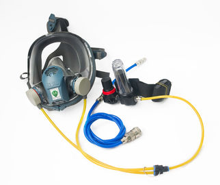 China FB 8509 Safety Rubber Gas Mask , Full Face Respirator Mask Chemical Line Use factory